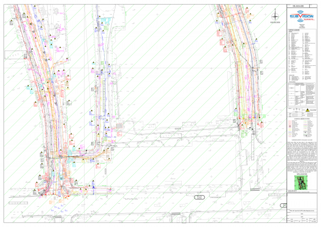 underground utility mapping in london