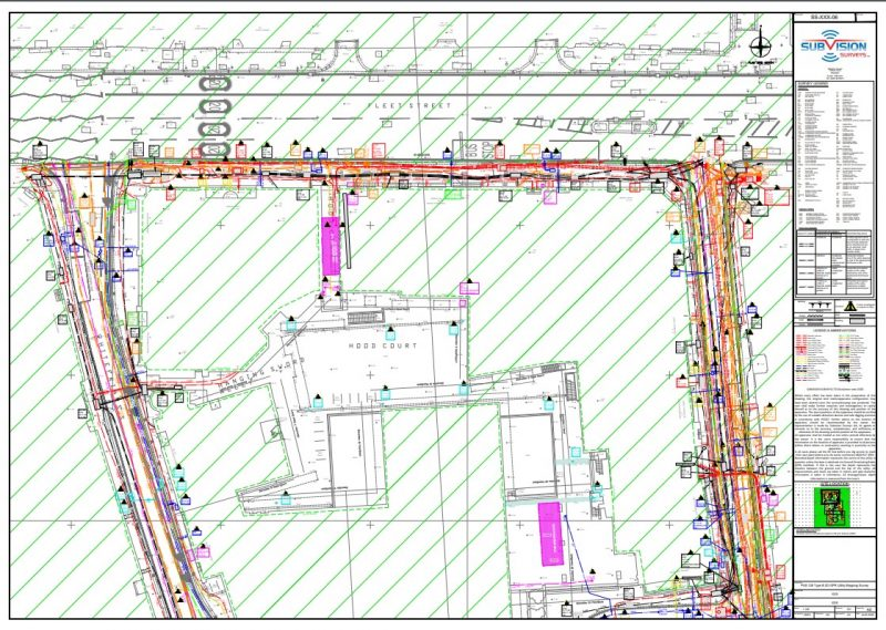 example of a PAS128 QLB survey undertaken in London 2